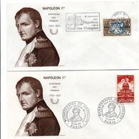 Napoléon 1969 - Paris : BT Transfert Des Cendres De L'Aiglon & Flamme Cour Des Comptes - Aigle Eagle - Maschinenstempel (Werbestempel)