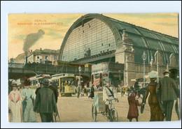 XX009546/ Berlin Bahnhof Alexanderplatz Straßenbahn 1909 AK - Non Classés