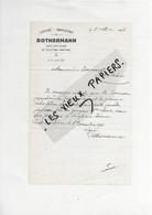 70 - Haute-saône - RUPT-SUR-SAONE - Facture ROTHERMANN - Laiterie, Fromagerie  - 1941 - REF 193B - 1900 – 1949