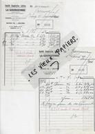 70 - Haute-saône - TINCEY - Facture LA GOURGEONNE - Société Coopérative Laitière - 1962 - REF 193B - 1900 – 1949