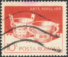 Roumanie 1982. ~ YT 3430 - Baquets En Bois - Usati