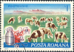 Roumanie 1982. ~ YT 3389 - Trayeuse Automatique - Usati