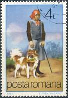 Roumanie 1981. ~ YT 3378 - Le Chien, Portant Le Panier - Usati
