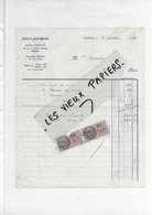 70 - Haute-saône - VESOUL - Facture DOILLON - Laiterie St-Martin - 1908 - REF 193B - 1900 – 1949
