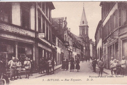 57 BITCHE Rue Teyssier , Façade Café Central - Bitche
