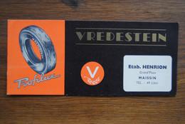 5391/ Pneus VREDESTEIN-Profilux-Etab.HENRION Gd'Place MAISSIN Tél 49 LIBIN - Automotive