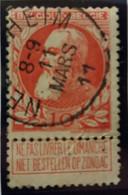 Belgique  Oblitération Nederheim Sur COB N°74 - 1905 Barbas Largas