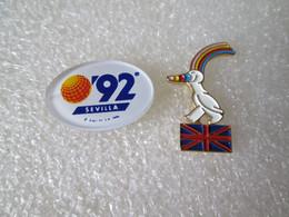 PIN'S   LOT 2     SEVILLA 92 - Andere