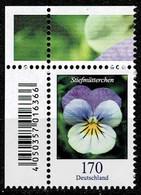 Bund 2019,Michel# 3473 ** Blumen:Stiefmütterchen - Ungebraucht