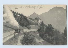 E358/ Caux  Bergbahn AK 1913 Schweiz - Ohne Zuordnung