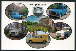 Concours Pelegance , Het Loo 2014 - Renault 4 - 1962 -1992  -  Not  Used   ,2 Scans For Condition. (Originalscan !! ) - Autres