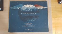 "Encyclopédie Calberson De La Locomotion 5e Collection ""L'AERONAUTIQUE"" Illustré Par JEAN NOEL Calendrier 1962 - Big : 1961-70"