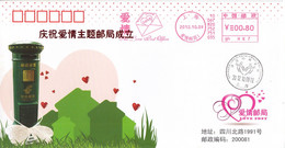 China 2021 Shanghai The Love Postoffice  Postmark Postal Cover - Covers