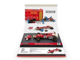 Ferrari 312B - Mario Andretti - 1st GP FI Afrique Du Sud 1971 #6 - Brumm + Pilot - Brumm