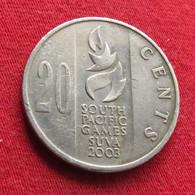Fiji 20 Cents 2003 KM# 95 - Fiji