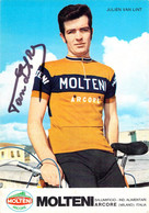 CYCLISME: CYCLISTE : JULIEN VAN LINT Signée - Cycling