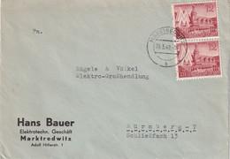 ALLEMAGNE 1940 LETTRE DE MARKTREDWITZ - Briefe U. Dokumente