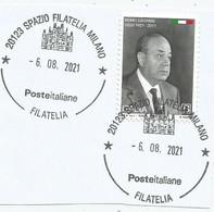 ITALIA 2021 REMO GASPARRI Usato Su Frammento - 2011-...: Usati