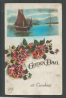 Oude Postkaart    Goeden Dag Uit.  TURNHOUT. - Gruss Aus.../ Gruesse Aus...