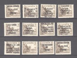 Espagne   :   Yv  578A  **  Avec 11 Surcharges ** - 1931-50 Ongebruikt