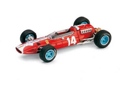 Ferrari 512 F1 - Scuderia N.A.R.T. - Pedro Rodriguez - 5th GP FI USA 1965 #14 - Brumm - Brumm