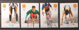 2004 - Portugal - MNH As Scan - Paralympic Games In Athens - 4 Stamps - Unused Stamps