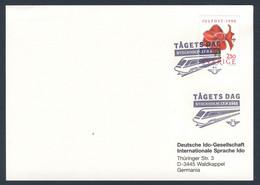 Sweden Sverige 1991 Karte Card Carte - Tågets Dag  - Stockholm 17.8.1991 -  Zugtag / Train Day / Journée De Train - Treinen
