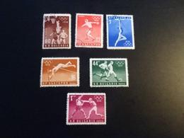 P527 - Set Used Bulgaria  1956 - Olympics Melbourne - Summer 1956: Melbourne