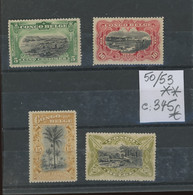 50-53 **. SANS Charnière. Postfris. Cote 345,-€. - 1894-1923 Mols: Nuevos
