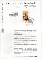 - Notice Philatélique Premier Jour PARIS 26.6.2004 - Napoléon 1er - - Napoléon