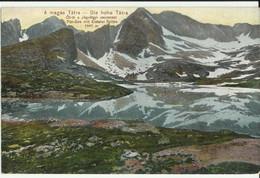 A Magas Tatra,Die Hohe Tatra . (not Circulated) - Slovacchia