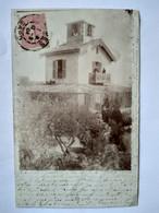 CPA 30 - Carte Photo Lieu à Identifier - Cachet Uzès. 1904 - BE - Ohne Zuordnung