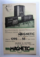 BUVARD - Récepteur Moderne MAGNETIC - R