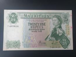 MAURITIUS 25 RUPEES 1967 - Mauritius