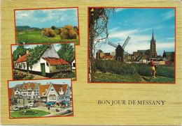 Bonjour De MESSANCY - Multi-vues (Messany, Erreur D'orthographe Sur La Carte) - Messancy