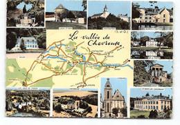 Seine Et Oise D78 Carte Geographique. Cim.  Levis St Nom Chateaufort Bures Gif Sur Yvette Orsay St Remy Les Chevreuse - Unclassified