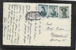 AK 0776  Salzburg Im Winterzauber - Glückliches Neujahr Um 1952 - Salzburg Stadt