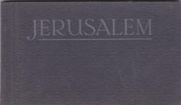 Israël - Jérusalem , Carnet De 10 Cartes Postales Couleurs (divisé)La Mer Morte,Jaffa,Jérusalem,Jordan,.... - Israele