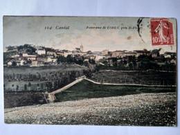 CPA 15 - Panorama De COREN , Près De St Flour - 1908 - État Correct - Other Municipalities