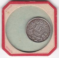 QUATRES   PIECES DE  1 FRANCS  SUISSE   1940  1968  1969  1975 - Switzerland