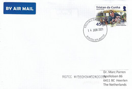 Tristan Da Cunha 2021 Dentist Surgeon Mission House Cover - Tristan Da Cunha
