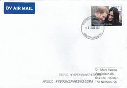 Tristan Da Cunha 2021 Royal Wedding Prince Harry Megan Cover - Tristan Da Cunha