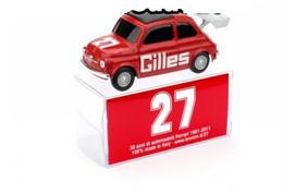 """Fiat 500 Nuova - """"Gilles"""" - 1981 - Gilles Villeneuve #27 - Brumm - Brumm"""