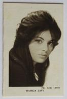Rare Calendrier 1962 Actrice Et Chanteuse Israélienne Daliah Lavi Chaussures Robert Pruneaud Bruère Allichamps - Small : 1961-70