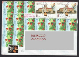 Canada Italia Flora Flore Fragole Fraises Strawberries Università Manitoba University Université LET00165 - Covers & Documents