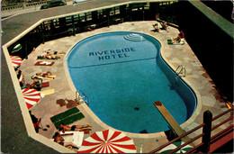 Nevada Reno The Riverside Hotel Swimming Pool 1957 - Reno