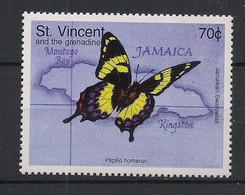 St Vincent - 1998 - N°Mi. 4270 - Papillon / Butterfly - Neuf Luxe ** / MNH / Postfrisch - Butterflies