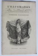 Ancien Programme Comédie Parisienne Loïe Fuller 24 Mars 1895 Mademoiselle Eve L'illustration - Programmi