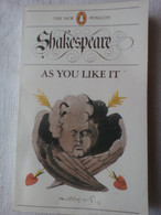 William Shakespeare - As You Like It - The New Penguin - By H. J. Oliver - Couverture Illustré Par Paul Hogarth - Cultural