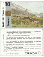CHF65001 Switzerland Phonecard / Taxcard - Painting, View, Village - Chip - 10 CHF / Used - Paesaggi